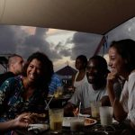 Anguilla's bars and restaurants are a great place for St James Medical School students to relax after studying