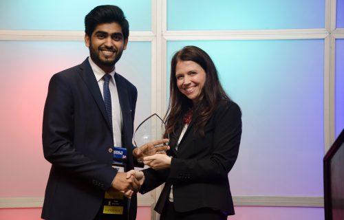 Caribbean med school alum Wins AMSA's James Slayton National Award for Leadership Excellence