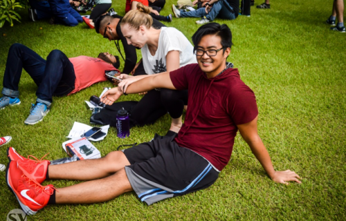 overseas med school Observes Physio Day