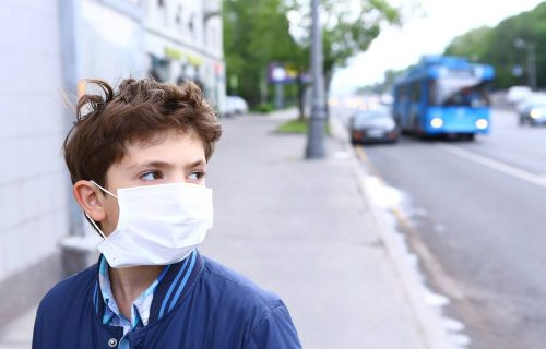 Medical school research on air pollution and childhood deaths